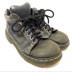 Dr. Martens 8542 black ankle boots/7